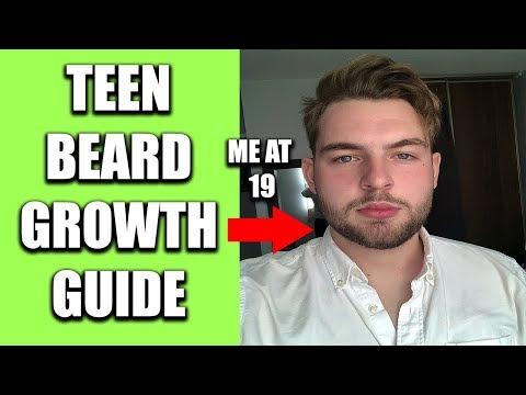 How Teens Can Grow A Beard-5 Tips To Fix A Patchy Beard.