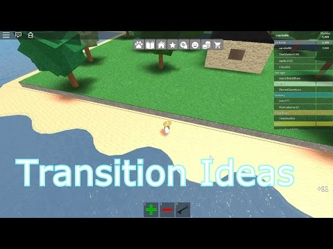 Roblox: Transition ideas