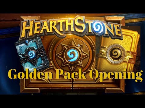 Hearthstone GOLDEN Pack Opening!