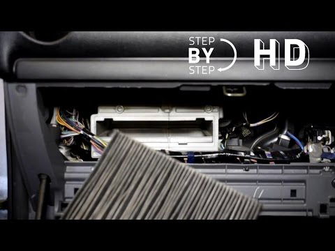 How to change replace Cabin Air Filter mazda 6 - HD STEP BY STEP - DIY - DO IT YOURSELF