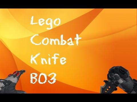 Lego Combat knife BO3