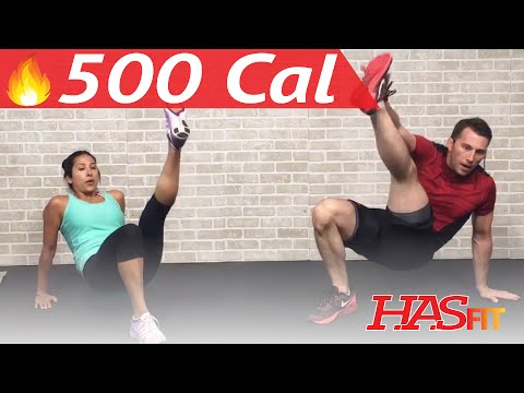 30 Min HIIT Workout for Fat Loss - High Intensity Interval Training with Weights at Home Women & Men