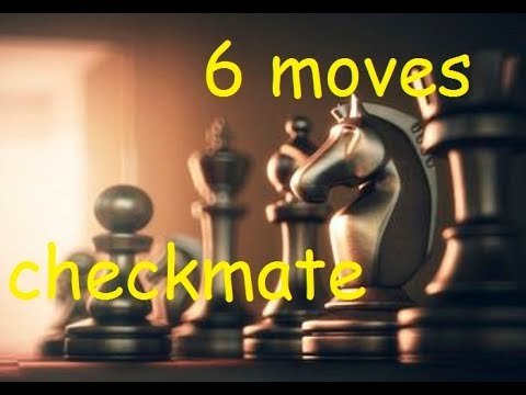 chess trick| WIN chess fast in 6 moves