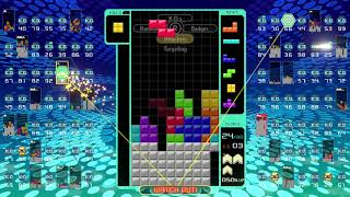 Tetris 99 - My Fourth Victory