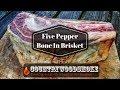 Five Pepper BBQ Brisket - Bone In