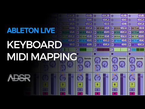 Keyboard MIDI Mapping in Ableton Live