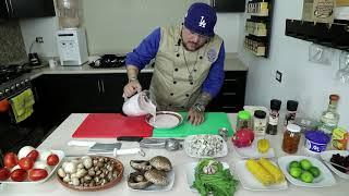 Cocinando con El Muerto Ep25.- Tinga De Champiñones.