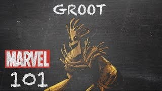 Walking, Talking Tree – Groot – Marvel 101