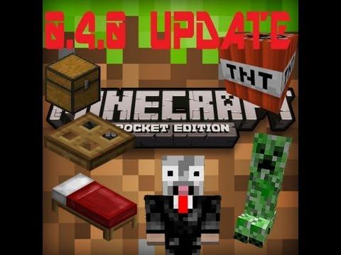 Minecraft Pocket Edition 0.4.0 Update Review