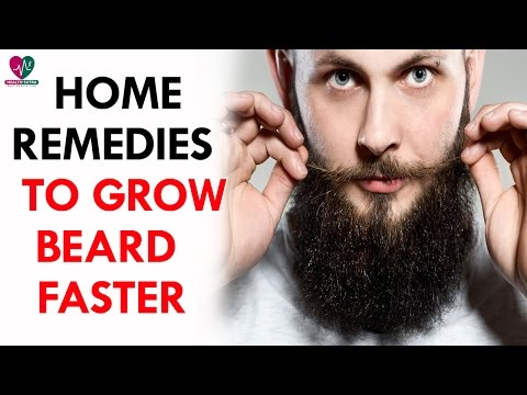 Home Remedies to Grow Beard Faster - Health Sutra