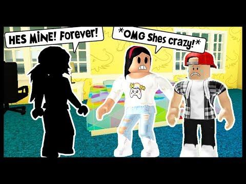 MY BOYFRIEND'S JEALOUS EX GIRLFRIEND IS MY STALKER! - ROBLOX