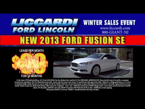 Winter Sales Event Liccardi Ford January