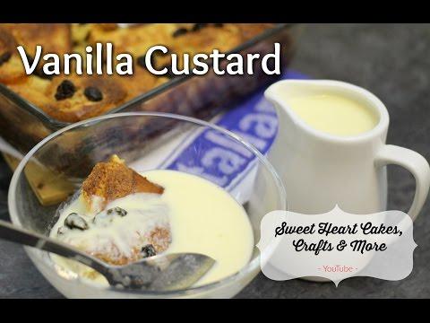 Vanilla Custard // Creme Anglaise