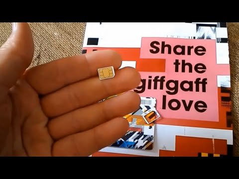 How to use a giffgaff triple SIM card. Ordering couldn't be more SIMple | giffgaff