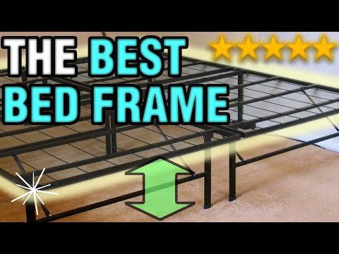 The Best Bed Frame | Raised Folding Metal Heavy Duty Cheap & Easy Bed Frame 2018