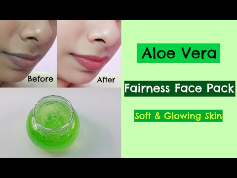 Aloe Vera Fairness Face Pack | Naturally Removes Dark Spots, Pigmentation and Acne Scars