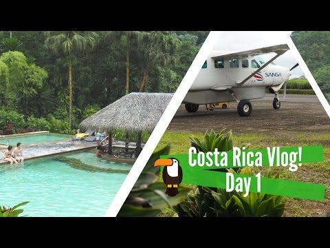 San Jose to La Fortuna | Arenal | Tabacon Hot Springs | COSTA RICA DAY ONE