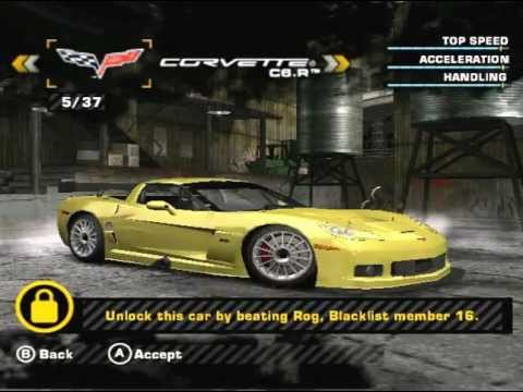 Hidden cars In the GameCube version of NFS Most Wanted, Yeah, EA lied