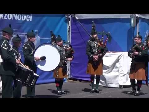 The Pipes and Drums of the 2nd Battalion The Royal Irish Regiment