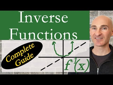 Inverse Functions (Complete Guide)
