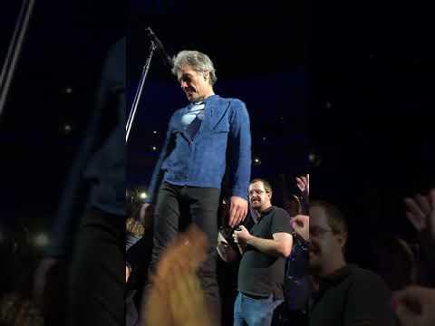 Bon Jovi 2018 Denver - AMEN and BED OF ROSES