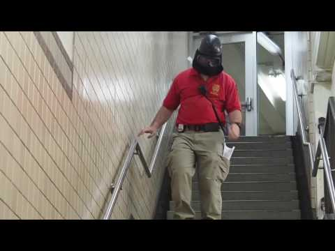 Emergency response drill held at Newark Penn Station, active shooter