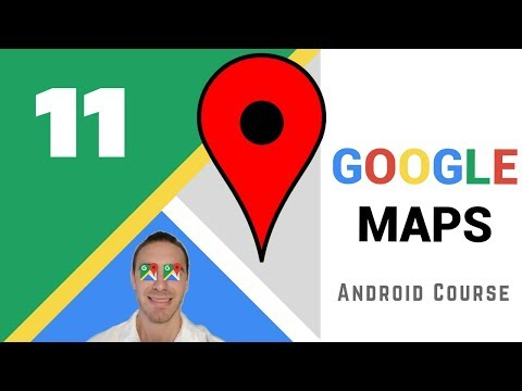 Custom Marker Info Window - [Android Google Maps Course]