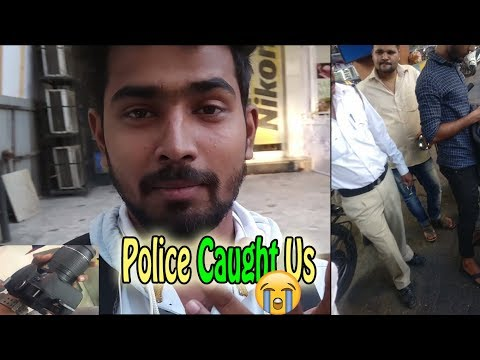 Vlog #2 What Happend To My Damaged DSLR Camera?? Police Caught Us 😱😭