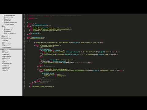 Video 4: Add the Bootstrap Grid to WordPress Theme