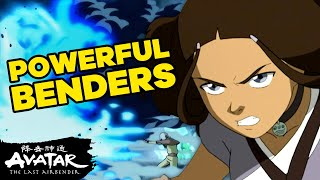 Top 10 Most Powerful Benders! 🔥🌊Avatar | NickRewind