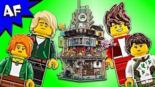Lego Ninjago Movie: NINJAGO CITY 70620 Animation & Speed Build
