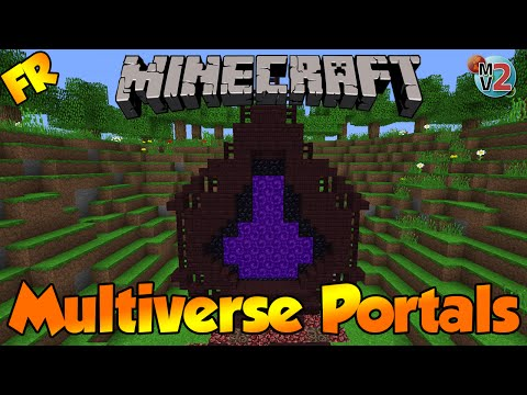 Minecraft Bukkit Plugin - Multiverse Portals - Tutoriel FR