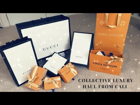 ✨COLLECTIVE LUXURY HAUL FROM CALI✨ | VLOGMAS DAY 21