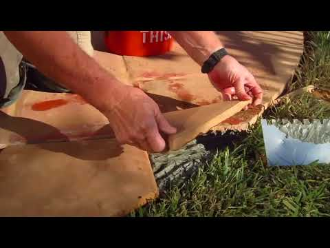 How to Install Mexican Tile