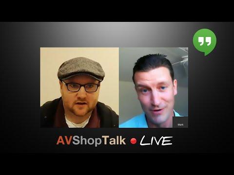 The Inaugural Hangout-On-Air | AVShopTalk Live