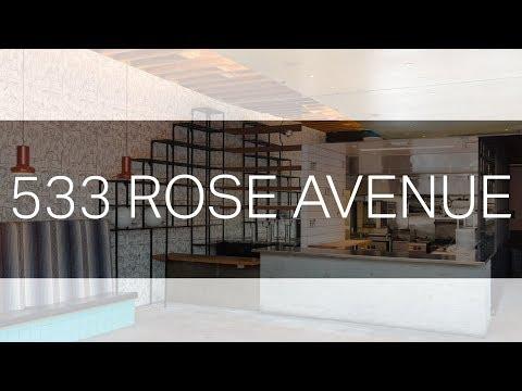Venice Restaurant Space: 533 Rose Avenue - Venice 90291