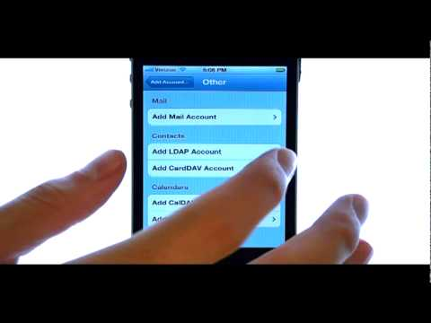 How Do I Add Additional Email Accounts To My Apple iPhone 4S?