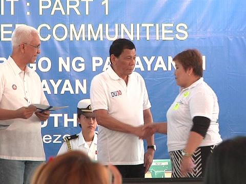 President Duterte grants free housing for 205,000 poor Yolanda victims