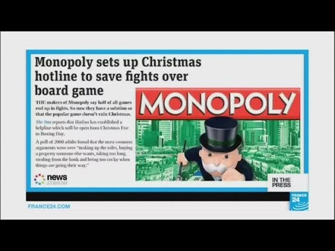 Monopoly makers set up hotline to avoid Christmas arguments