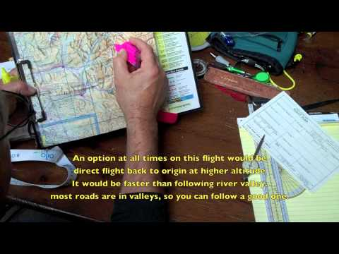 VFR flight planning part 2
