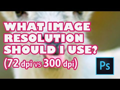 What image resolution should I use? - Photoshop