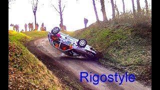 Rallye du Touquet 2018 jour 1 Crash, on the limit By Rigostyle
