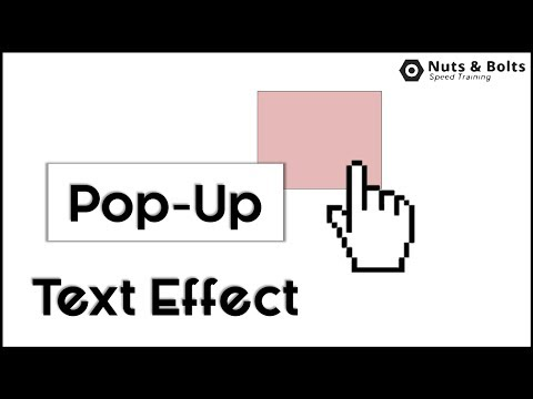 Displaying Pop-Up Text In PowerPoint (It's Easy)