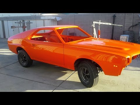 1969 AMC BBO AMX 390 Restoration Project