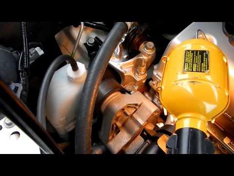 Honda CR-V Serpentine Belt change (2014 - 4th generation)