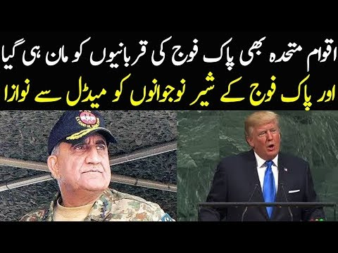 United Nation Accepted Pakistan's Army Hard Work To Promote Peace In World