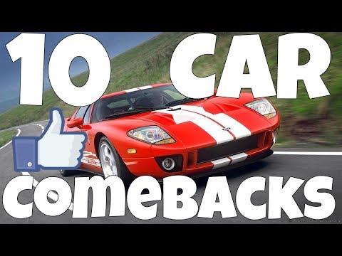 Top 10 Car Comebacks
