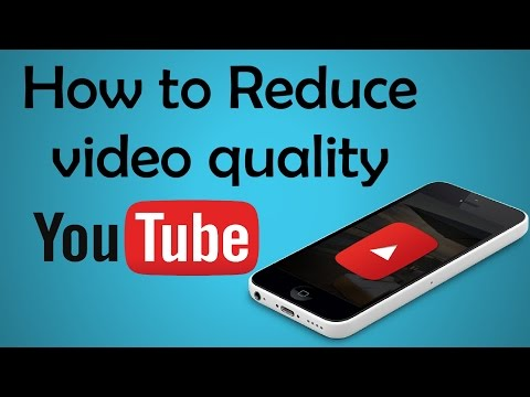 How to watch Video low quality on YouTube Android app