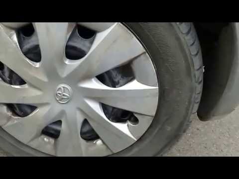 Toyota Yaris proper hub cap (wheel cover) removal remove caps wheel covers without breaking them