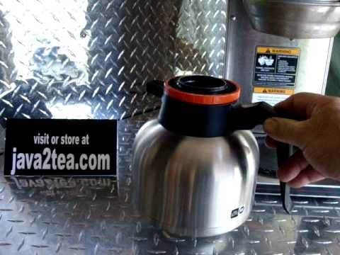 Coffee Pot - Stainless Steel Thermal Carafes / Urn